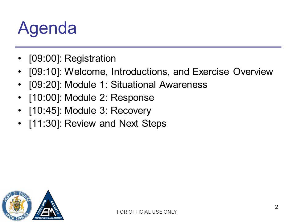 Agenda [09:00]: Registration
